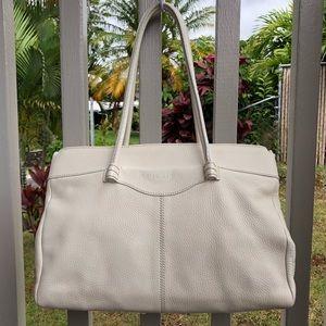 Tods shoulder bag, white